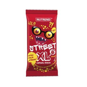 Tyčinka Nutrend Street XL 30g jahoda s jogurtovou polevou