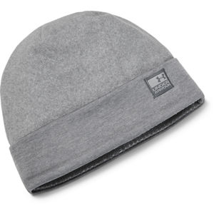 Pánska čiapka Under Armour CGI Fleece Beanie Steel - OSFA