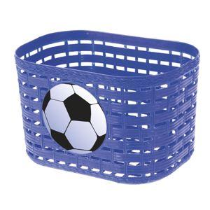Detský predný košík plast modrá
