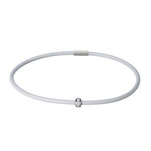 Magnetický náhrdelník inSPORTline Mely 45 cm - šedá