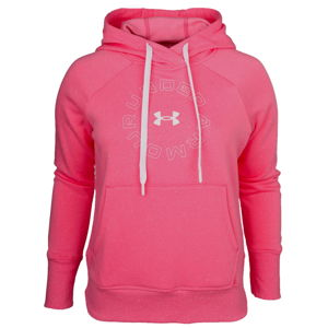 Dámska mikina Under Armour Rival Fleece Metallic Hoodie  - L
