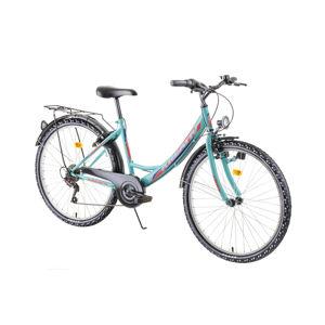 """Mestský bicykel Kreativ 2614 26"""" - model 2019 Pink - Záruka 10 rokov"""