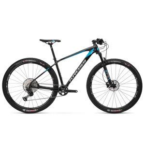 "Horský bicykel Kross Level 13.0 29"" - model 2020 čierna/grafitová/modrá - M (18"") - Záruka 10 rokov"