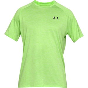 Pánske tričko Under Armour Tech SS Tee 2.0 Zap Green - XS