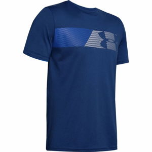 Pánske tričko Under Armour Fast Left Chest 2.0 SS American Blue - L