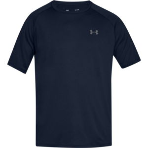 Pánske tričko Under Armour Tech SS Tee 2.0 Academy/Graphite - XS