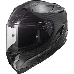 Moto prilba LS2 FF327 Challenger C Carbon Solid Black - XL (61-62)