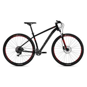 "Horský bicykel Ghost Kato 9.9 AL U 29"" - model 2019 Night Black / Titanium Grey / Riot Red - XL (21"") - Záruka 10 rokov"