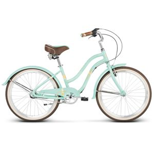 "Juniorský dievčenský bicykel Le Grand Sanibel JR 24"" - model 2020 Mint"