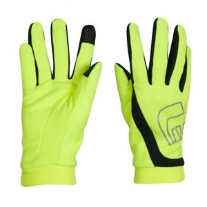 Bežecké rukavice Newline Thermal Gloves Visio neon - S
