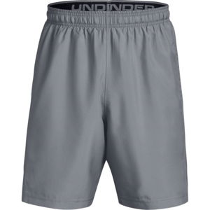 Pánske kraťasy Under Armour Woven Graphic Short Gray/Black - M