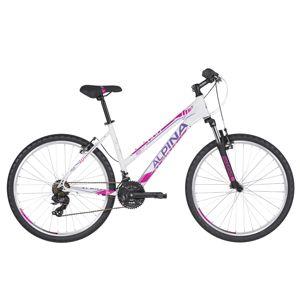 """Dámsky horský bicykel ALPINA ECO LM10 26"""" - model 2020 White - M (18"""") - Záruka 10 rokov"""