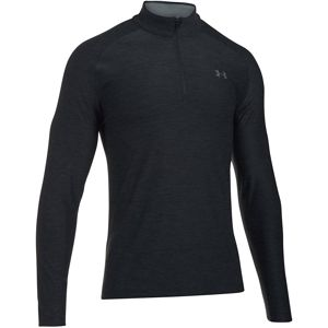 Pánske tričko Under Armour Playoff 1/4 Zip JADE / ACADEMY / RHINO GRAY - M