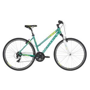 "Dámsky crossový bicykel KELLYS CLEA 30 28"" - model 2019 Bermuda Mint - M (19'') - Záruka 10 rokov"