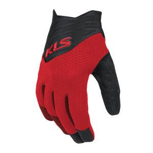 Cyklo rukavice Kellys Cutout Long červená - XL