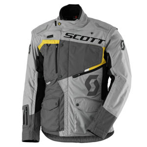 Moto bunda SCOTT Dualraid DP grey-yellow - L (50-52)