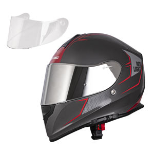 Moto prilba W-TEC V127 Red Light L (59-60)