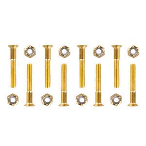 Podvozkové skrutky 5x35 mm zlatá