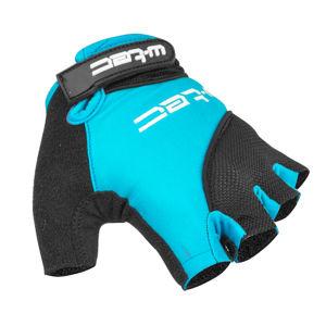 Cyklo rukavice W-TEC Sanmala AMC-1023-22 modro-čierna - XS