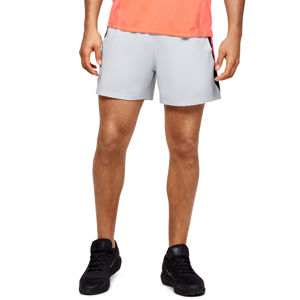 Pánske kraťasy Under Armour Launch SW 5'' Short Halo Gray - M