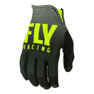 Moto rukavice Fly Racing Lite 2019 čierna/hi-viz - 3XL