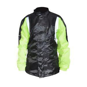 Bunda proti dažďu Ozone Marin čierno-zelená - XL