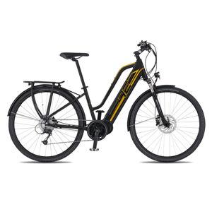 """Dámsky trekingový elektrobicykel 4EVER Marianne AC-Trek - model 2020 čierna/zlatá - 16"""" - Záruka 10 rokov"""