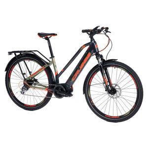 """Dámsky trekingový elektrobicykel Crussis e-Savela 7.6 - model 2021 17"""" - Záruka 10 rokov"""