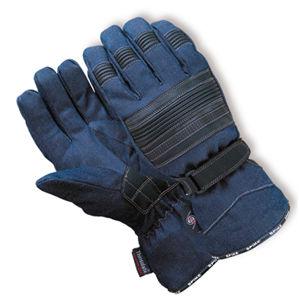 Moto rukavice Denim TWG-00G52 modrá - 3XL
