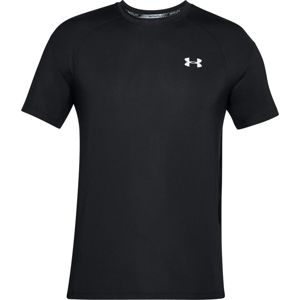 Pánske tričko Under Armour Coolswitch Run SS V3 Black - XL