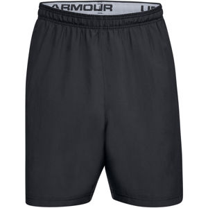Pánske šortky Under Armour Woven Graphic Wordmark Short Black - XL