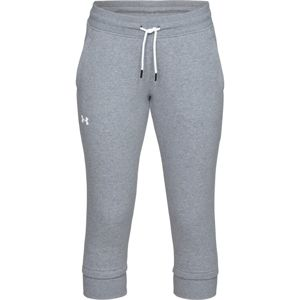Dámske tepláky Under Armour Good Europe Fleece Crop Steel Light Heather - L