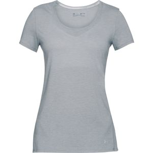 Dámske tričko Under Armour Threadborne Streaker SS Steel Light Heather - S