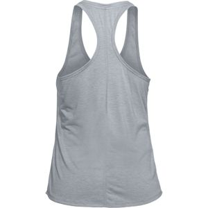 Dámske funkčné tielko Under Armour Threadborne Streaker Tank Steel Light Heather - M