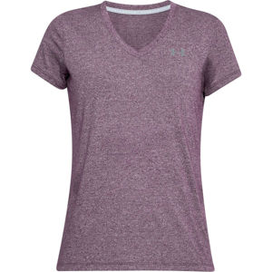 Dámske tričko Under Armour Threadborne Train SSV Twist Merlot - XS