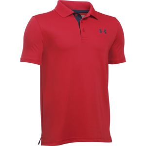 Detské tričko Under Armour Performance Polo Red - YL