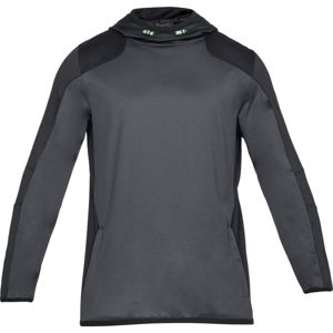 Pánska mikina Under Armour Reactor Pull Over Hoodie Rhino Gray - XL