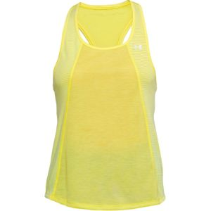 Dámske tielko Under Armour Threadborne Fashion Tank Tokyo Lemon Full Heather - M