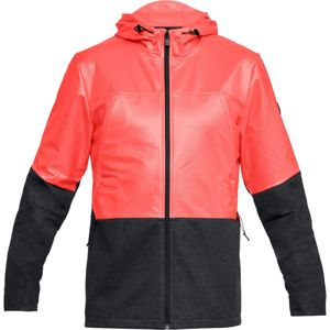 Pánska mikina Under Armour Swacket Neon Coral - S
