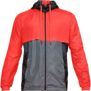 Pánska bunda Under Armour Sportstyle Windbreaker Neon Coral - M