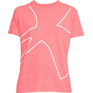 Dámske tričko Under Armour Triblend Graphic SS Tee Coral Cove Light Heather - S