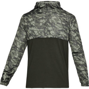 Pánska ľahká bunda Under Armour Wind Anorak Artillery Green - XXL