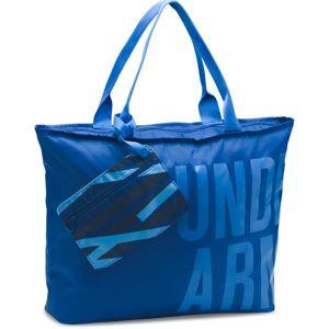 Dámska športová taška Under Armour Big Word Mark Tote blue - OSFA