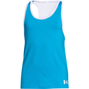 Dievčenské tielko Under Armour Luna Tank blue - YL