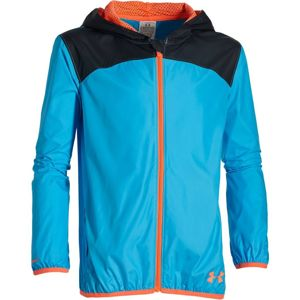 Chlapčenská bunda Under Armour Fast Lane Packable Jacket blue - YL