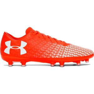 Pánske kopačky Under Armour CoreSpeed Force 3.0 FG Orange/White - 8,5