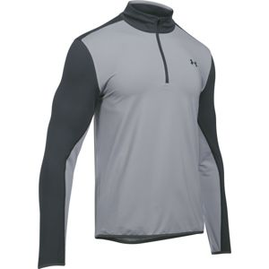 Pánska golfová mikina Under Armour EU Midlayer 1/4 Zip Gray/Black - XL