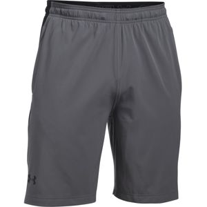 Pánske kraťasy Under Armour Supervent Woven Short GRAPHITE / BLACK - XXL