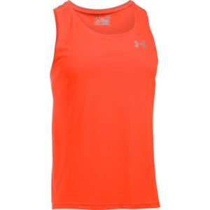 Pánske bežecké tielko Under Armour Coolswitch Run Singlet v2 Orange - L