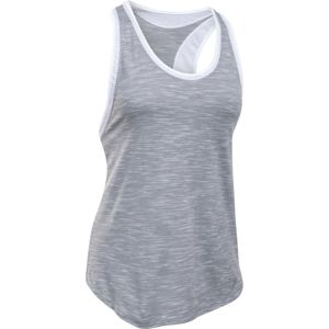 Dámske tielko Under Armour Favorite Mesh Tank Gray/Black - M